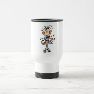 Figura camisetas y regalos del palillo del aro de taza de café