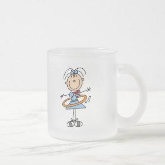 Figura camisetas y regalos del palillo del aro de tazas de café