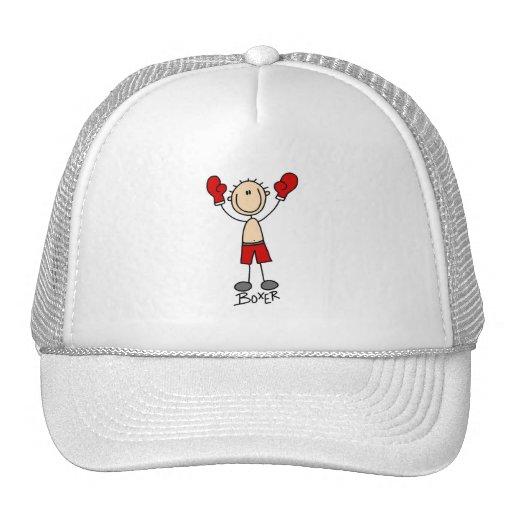 Figura camisetas y regalos del palillo del boxeado gorras