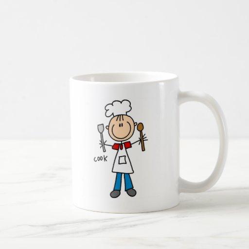 Figura camisetas y regalos del palillo del cociner taza