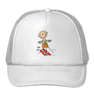 Figura camisetas y regalos del palillo del esquí a gorro
