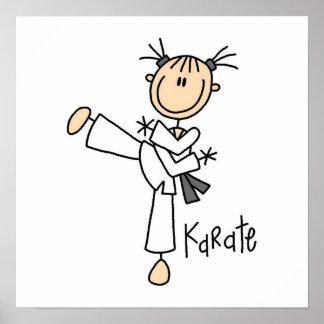 Figura camisetas y regalos del palillo del karate  impresiones