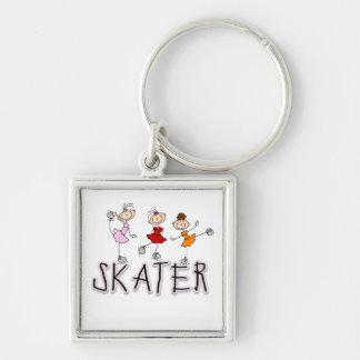 Figura camisetas y regalos del palillo del patinad llavero