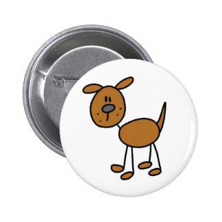 Figura camisetas y regalos del palillo del perro pin