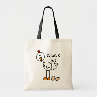 Figura camisetas y regalos del palillo del pollo bolsa tela barata