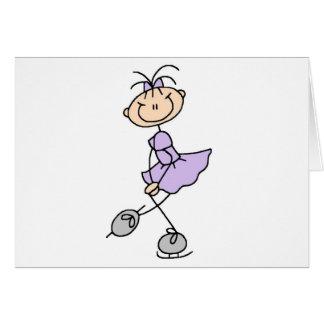 Figura camisetas y regalos del vestido de la lila felicitaciones