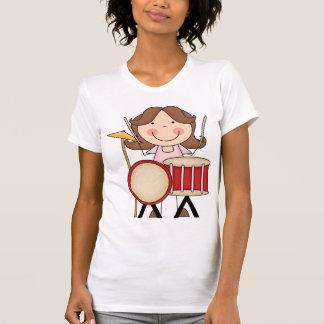 Figura chica del palillo con los tambores playeras