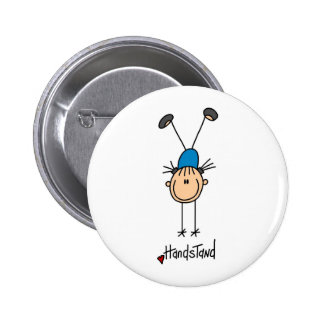 Figura chica del palillo que hace el botón de los  pin redondo de 2 pulgadas