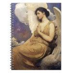 Figura coa alas Thayer cuaderno de Abbott Handerso