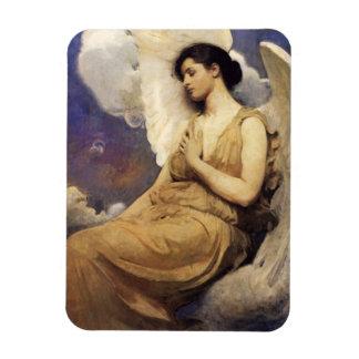 Figura coa alas Thayer imán de Abbott Handerson