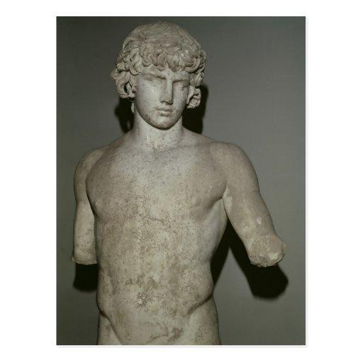 Figura de Antinous, después del ANUNCIO 130 Tarjetas Postales