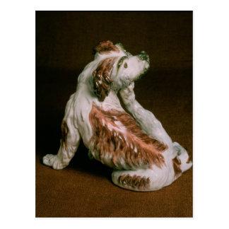 Figura de Derby de un perro de aguas de rey Postal