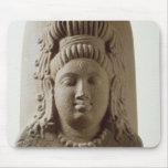 Figura de Ekamukha Siva-Linga del templo en K Alfombrilla De Ratón