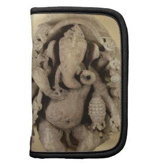 Figura de Ganapati, dinastía de Chandella (piedra  Planificador