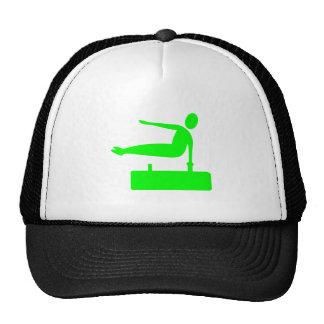 Figura de la bóveda - verde gorras de camionero