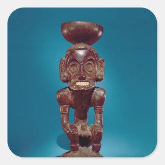 Figura de la deidad, República Dominicana Colcomanias Cuadradass