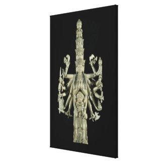 Figura de la diosa hindú Kali Lona Estirada Galerias