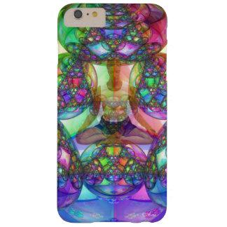 FIGURA DE LA MEDITACIÓN - ESPIRITUAL DE LA YOGA FUNDA DE iPhone 6 PLUS BARELY THERE