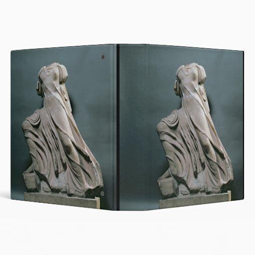 Figura de la ninfa, acroterion del templo de Phiga