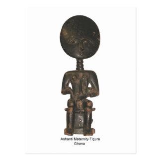 Figura de maternidad postal de Ashanti