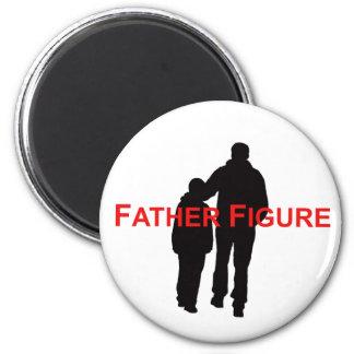 Figura de padre imán redondo 5 cm