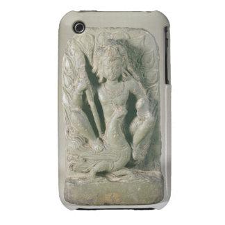 Figura de Skanda con su pavo real, colinas de iPhone 3 Cobreturas