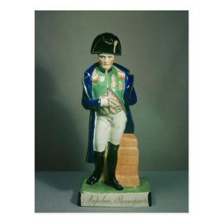 Figura de Staffordshire de Napoleon Bonaparte Postal
