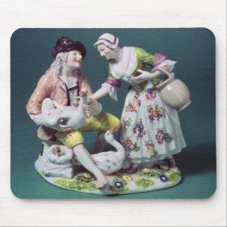 Figura de un vendedor de las aves de corral, c.175 tapetes de ratón