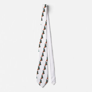 Figura de una mujer corbata