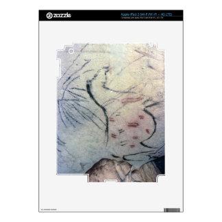 Figura de una yegua embarazada con la línea parale pegatinas skins para iPad 3
