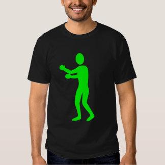 Figura del boxeo - verde camisas
