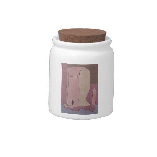 Figura del jardín de Paul Klee- Platos Para Caramelos
