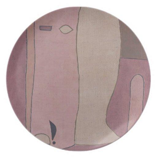 Figura del jardín de Paul Klee- Platos De Comidas