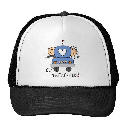 Figura del palillo apenas casada gorras
