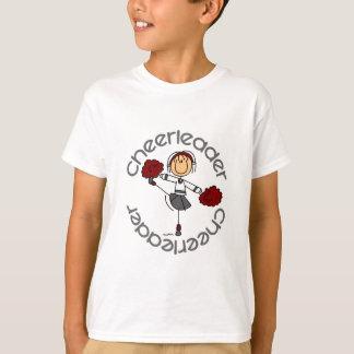 Figura del palillo de la animadora camisas
