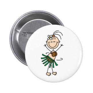 Figura del palillo del baile de Hula Pin Redondo 5 Cm