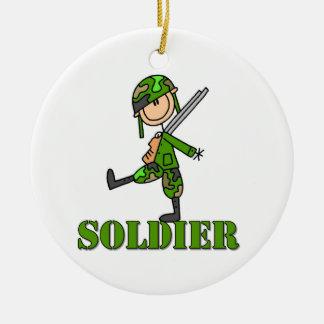 Figura del palillo del soldado ornato