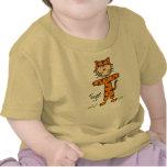 Figura del palillo en camisa del juego del tigre