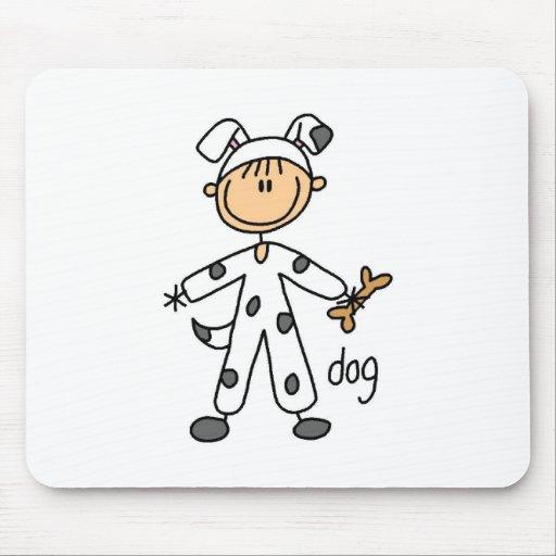 Figura del palillo en el juego Mousepad del perro