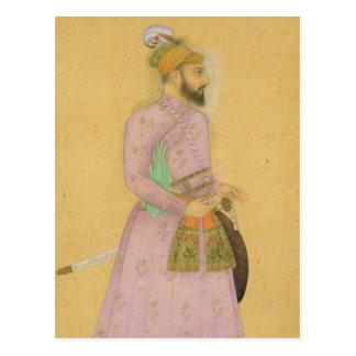 Figura derecha de un príncipe de Mughal del peque Postal