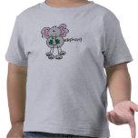 Figura elefante del palillo camisetas