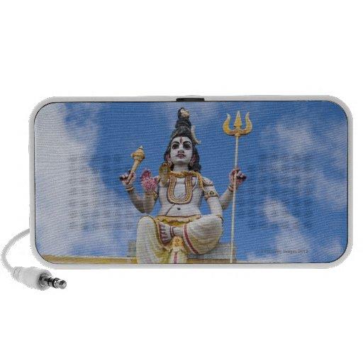 Figura en el templo hindú, Mauricio Sistema De Altavoz