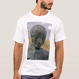 Figura esculturas en camiseta del sur de los