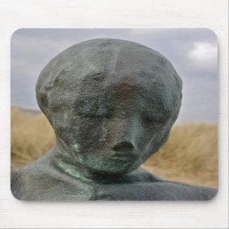 Figura esculturas en cojín de ratón del sur de los alfombrillas de ratón