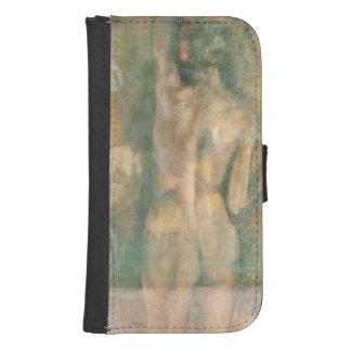 Figura femenina desnuda de Jennifer Goldberger Billeteras Para Teléfono