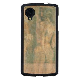 Figura femenina desnuda de Jennifer Goldberger Funda De Nexus 5 Carved® Slim De Arce