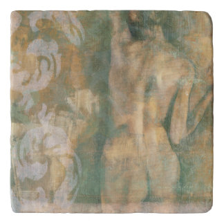 Figura femenina desnuda de Jennifer Goldberger Salvamanteles