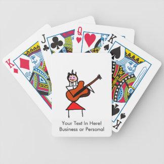 figura femenina ojos azules gtr del palillo de la  baraja cartas de poker