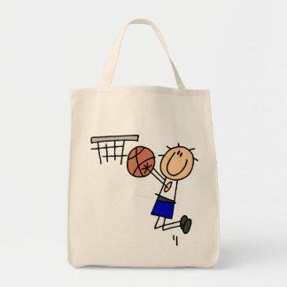 Figura fregadero T-shirs del baloncesto y regalos  Bolsa Tela Para La Compra