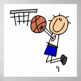 Figura fregadero T-shirs del baloncesto y regalos  Póster